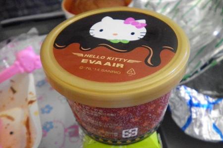 エバー航空  福岡 台北 チョコレートアイス